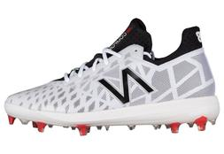 2018 New Balance COMPV1 Men's Composite Baseball Cleats- Whi