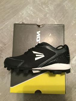 EASTON 360 INST RT YOUTH BASEBALL L CLEATS SZ 13 blk/char/wh