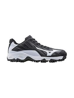 Mizuno Men's 9 Spike Advanced Erupt 3 bk-wh, Black/White, 10