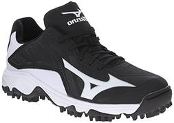 Mizuno Men's 9 Spike Advanced Erupt 3 Softball Cleat, Black/
