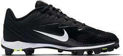 NIKE Boy's Vapor Ultrafly Keystone Baseball Cleat Black/Whit