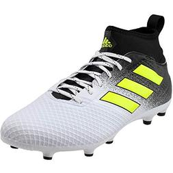 adidas Men's Ace 17.3 Firm Ground Cleats Soccer Shoe, White/