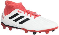 adidas ACE 18.3 FG, White/core Black/Real Coral, 11 M US