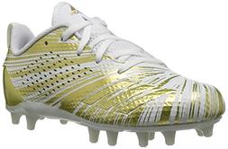 adidas Unisex Adizero 5-Star 7.0 Football Shoe, Gold Metalli