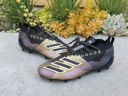 Adidas Adizero 8.0 Football Cleats Black Purple Gold D97650