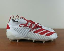Adidas Adizero 8.0 PrimeKnit Men's Football Cleats Red White