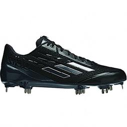 new adizero afterburner baseball metal cleats black