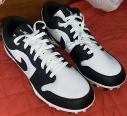 Nike Air Jordan 1 Low TD Black White Football Cleats Shoes A
