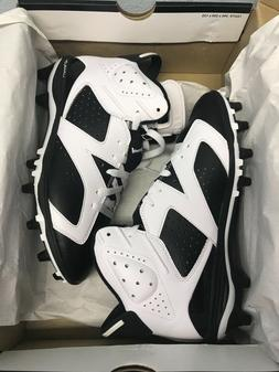 Nike Air Jordan VI 6 Retro TD Oreo Football Cleats 645419-11