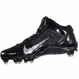 NEW! $100 Nike Alpha Pro 2 3/4 TD Football Cleats Black & Me