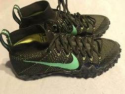 promo code 0465d 121b0 Nike Alpha Sensory Turf Football Cleats Sequoia Green 854312