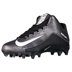 Nike Men's Alpha Strike 2 Three-Quarter Football Cleat Black
