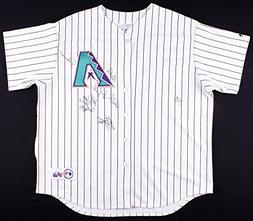 ARIZONA DIAMONDBACKS TEAM SIGNED 2006 JERSEY BYRNES EASLEY C
