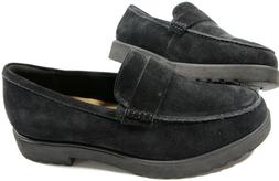 CLARKS Artisan Women's Bellevue Hazen Loafers- 10- NEW-Black