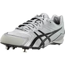 ASICS Base Burner  Athletic Baseball Cleated Shoes - Silver