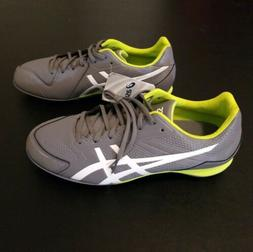 ASICS BASE BURNER K600Y 9707 TITANIUM WHITE LIME BASEBALL CL