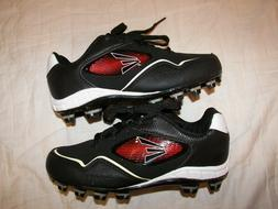 black baseball cleats