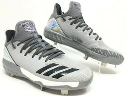 Adidas Boost Icon 4 Topps Men's Baseball Cleats Grey Hologra