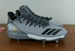 Adidas Boost Icon 4 Topps Men's Baseball Cleats Rare Grey Ho