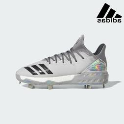 Adidas Boost Icon 4 Topps Metal Cleats Grey White DA9406 Men