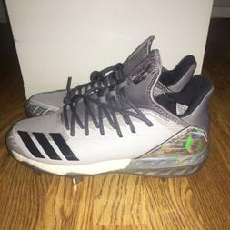 Adidas Boost Icon 4 Topps Premium Baseball Metal Cleats Grey