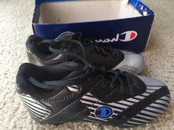 Champion Boys Cleats Sports Soccer Black Silver 11.5 New