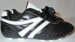 STARTER Boys )  Black Athletic Shoes Cleats Size 3 Baseball