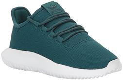 adidas Originals Boys' Tubular Shadow J Running Shoe, Green/