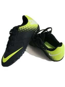 Brand NEW NIKE bomba soccer cleats for boys  size 1y black /