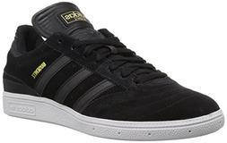 adidas Originals Men's Busenitz Skate Shoe, Black/White, 10