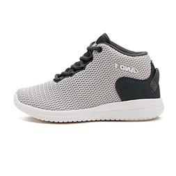 AND1 Boys' Bwylin Sneakers Black/Silver 7