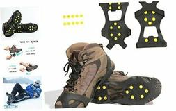 Carryown Ice Cleats, Ice Grips Traction Cleats Grippers M