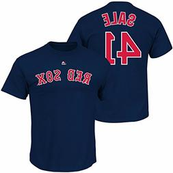 Chris Sale #41 Boston Red Sox Majestic Youth Player Name & N