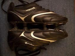 CLEATS Champion Soccer Black Size 2 youth,