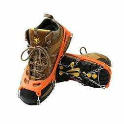 Cosyzone Traction Cleats Ice Spikes Grips for Shoe/Boots Saf