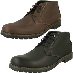 CURINGTON OVER MENS CLARKS LACE CLEATED SOLE WINTER CASUAL L