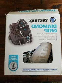 Yaktrax Diamond Grip All-Surface Traction Cleats for Walking