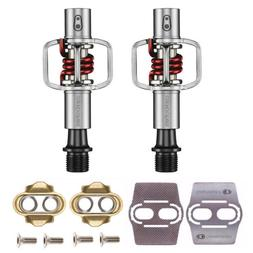 Crank Brothers Eggbeater 1 MTB Bike Pedals  with Cleats and