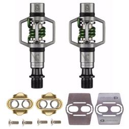 Crank Brothers Eggbeater 2 MTB Bike Pedals  with Cleats and