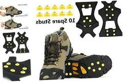 EONPOW Ice Grips, Ice & Snow Grips Cleat SFor Child 1 PAIR