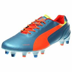 PUMA Men's Evospeed 1.2 Mixed Soft Ground Soccer Shoe,Sharks