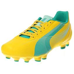PUMA Women's Evospeed 4.2 Firm Ground Soccer Shoe,Vibrant Ye