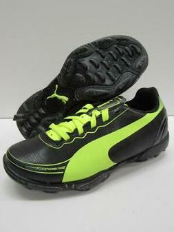 PUMA evoSPEED 5.2 TT Turf Soccer Rugby Lacrosse Cleats Black