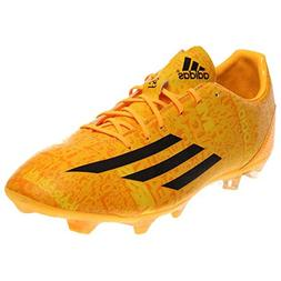 New Adidas Men's F5 FG Messi Soccer Cleats White/Orange/Blac