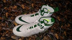 Nike Force Savage Elite TD Pine Green High Top Cleats Size 1
