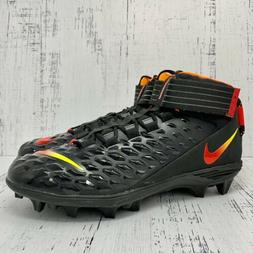 Nike Force Savage Pro 2 Football Mens Cleats Black Red Size