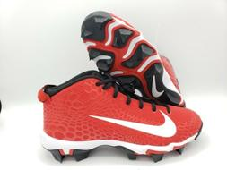 Nike Force Trout 5 Pro Keystone Baseball Cleats Size 6Y Red/