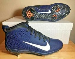 Nike Force Zoom Trout 5 Metal Baseball Cleats Navy White Bla