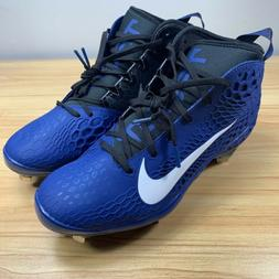 Nike Force Zoom Trout 5 Metal Baseball Cleats Size 10.5 Blue