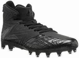 adidas Men's Freak X Carbon Mid Football Shoe, Black, 11.5 M
